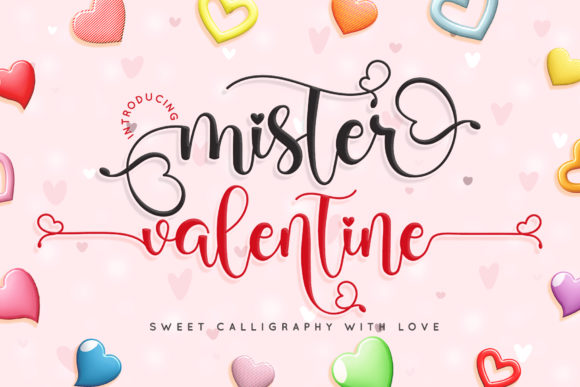 Print on Demand: Mister Valentine Script & Handwritten Font By airotype