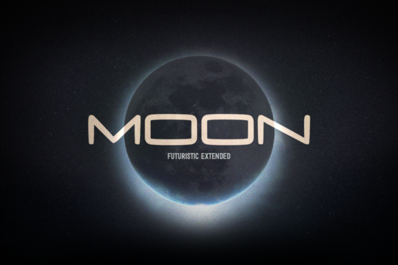 Print on Demand: Moon Sans Serif Font By DonMarciano