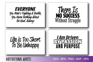Motivation Quotes Vector Graphic Crafts By Saudagar