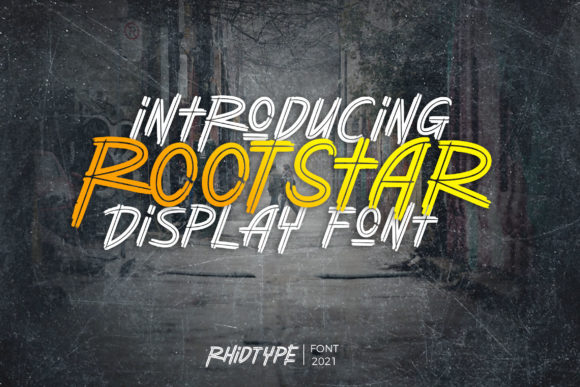Print on Demand: Rootstar Display Schriftarten von RHIDTYPE
