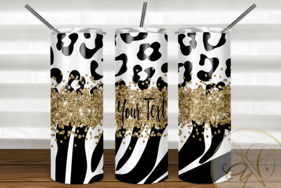 Skinny Tumbler Sublimation Animal Print Graphic Print Templates By paperart.bymc