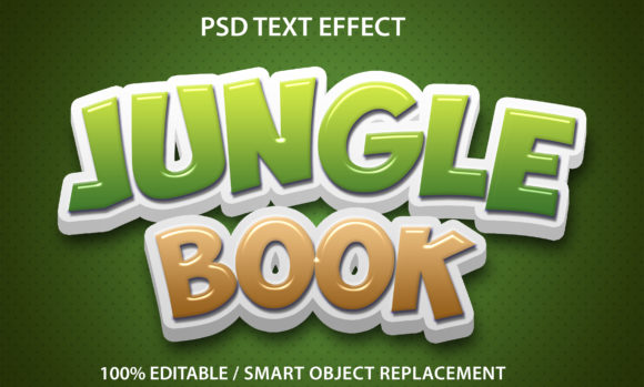 Text Effect Jungle Book Premium Graphic Graphic Templates By yosiduck