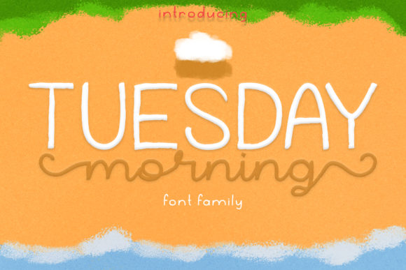 Print on Demand: Tuesday Morning Script & Handwritten Font By Katario Studio