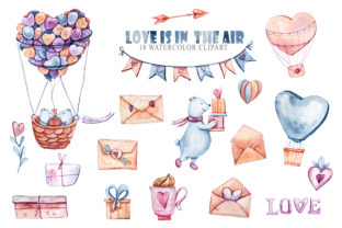 Print on Demand: Watercolor Cute Bears Clipart Collection Graphic Illustrations By Tiana Geo