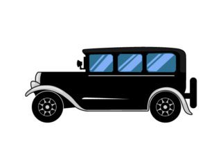 1920 S Style Car Cars Craft Cut File By Creative Fabrica Crafts