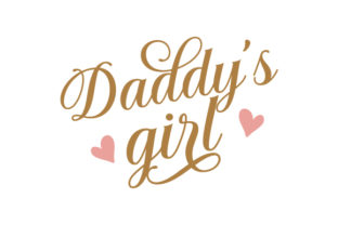 Daddy's Girl Family Craft Cut File By Creative Fabrica Crafts 1