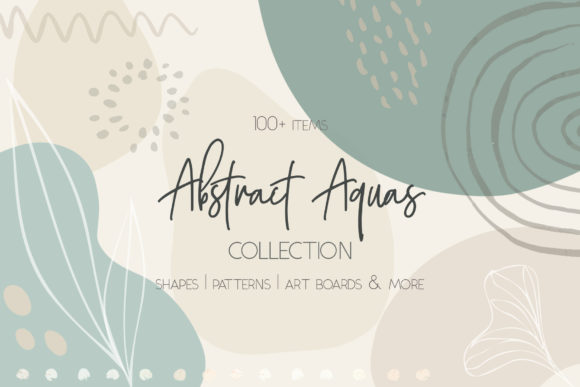 Print on Demand: Abstract Art Modern Design Bundle Graphic Illustrations By Jennadesigns