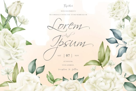 Print on Demand: Beautiful Floral Arrangement Background Graphic Print Templates By FederiqoEND