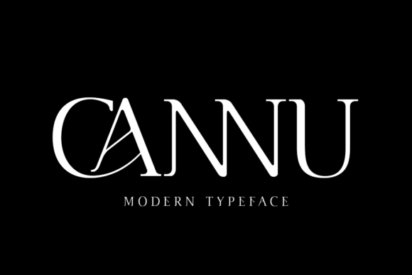 Print on Demand: Cannu Serif Font By DYSA Studio