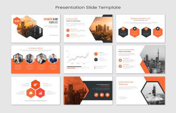 Corporate Presentation Slides Graphic Graphic Templates By GraphicHut