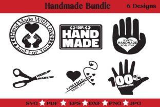 Print on Demand: Handmade Bundle - Made by Hand Stencil Graphic Illustrations By McLaughlin Mall