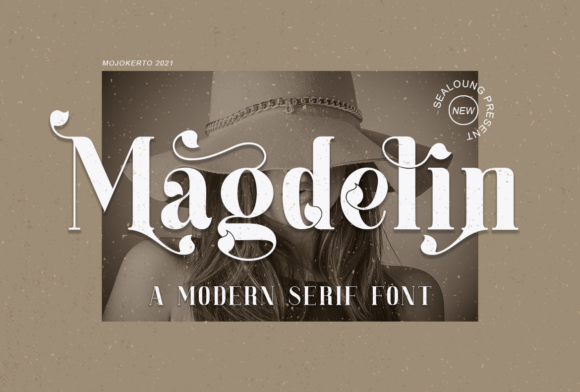 Print on Demand: Magdelin Serif Font By Sealoung