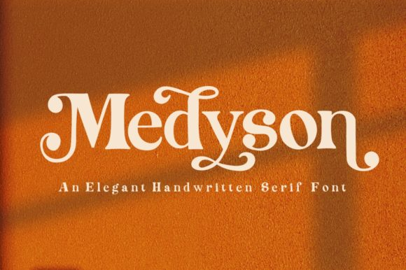 Print on Demand: Medyson Serif Font By Reyrey Blue