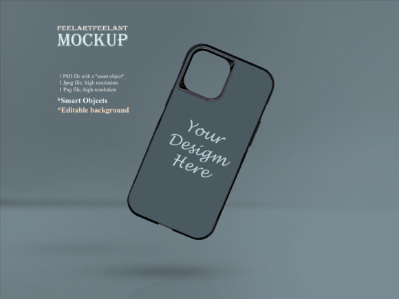 Mobile Case MockUp Graphic Layer Styles By feelartfeelant