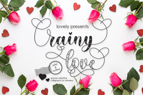 Print on Demand: Rainy Love Script & Handwritten Font By Almeera Studio