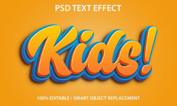 Text Effect Kids Premium Graphic Graphic Templates By yosiduck