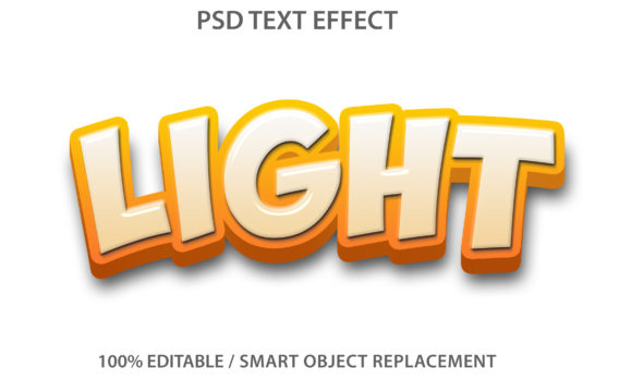 Text Effect Light Premium Graphic Graphic Templates By yosiduck