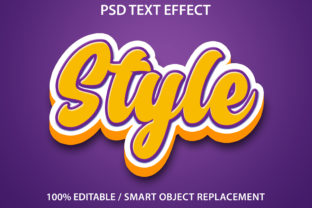 Print on Demand: Text Effect Style Premium Graphic Graphic Templates By yosiduck