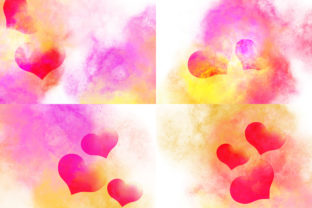 Valentines Day Background Graphic Illustrations By PurMoon