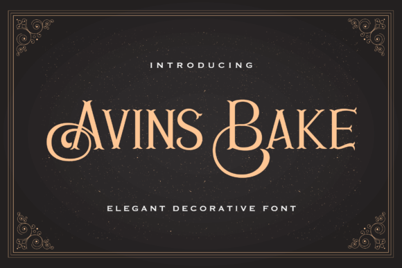 Print on Demand: Avins Bake Serif Font By StringLabs
