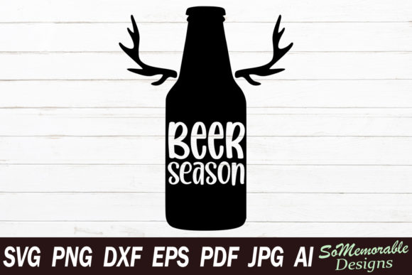 Print on Demand: Beer Season Graphic Crafts By SoMemorableDesigns