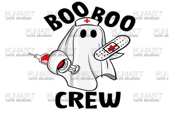 Boo Boo Crew  Gráfico Crafts Por Fundesings