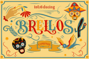 Print on Demand: Brellos Blackletter Font By Alit Design