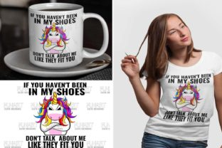 Cool Unicorn Design , Digital File , PNG Graphic Illustrations By Fundesings