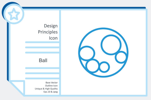 Design Principles Icon - Ball Graphic Icons By noumineomi