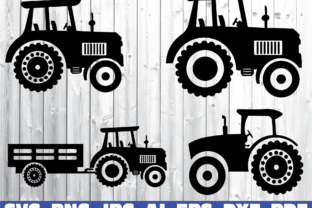 Farm Tractor Graphic Crafts By dodo2000mn1993