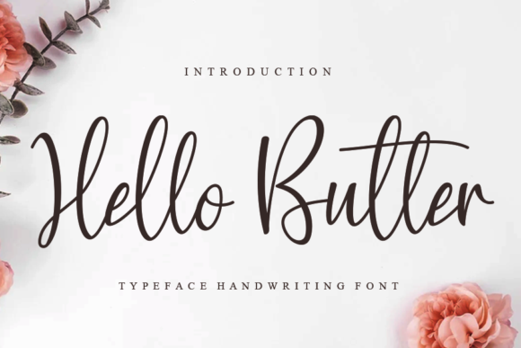 Print on Demand: Hello Butter Script & Handwritten Font By Creativewhitee