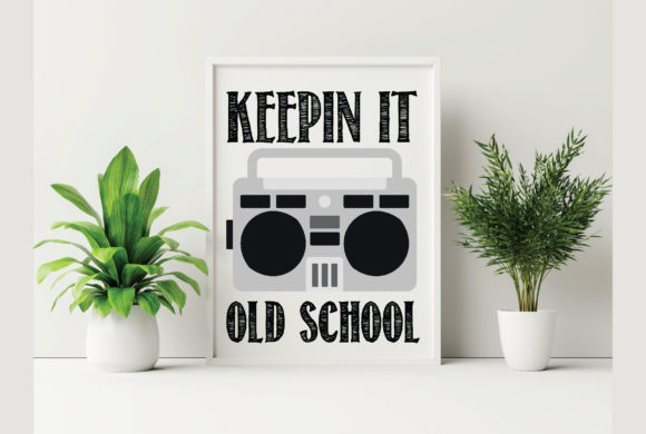 Keepin It Old School Graphic Crafts By Printable Store