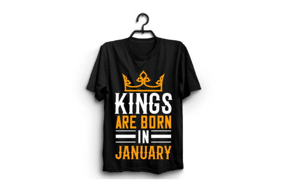 Kings Are Born in January Graphic Graphic Templates By craftstore
