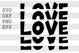 Love SVG Graphic Crafts By spoonyprint