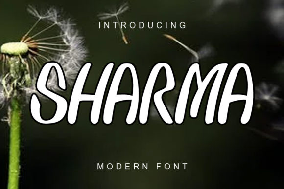 Print on Demand: Sharma Display Font By ABBAsalam