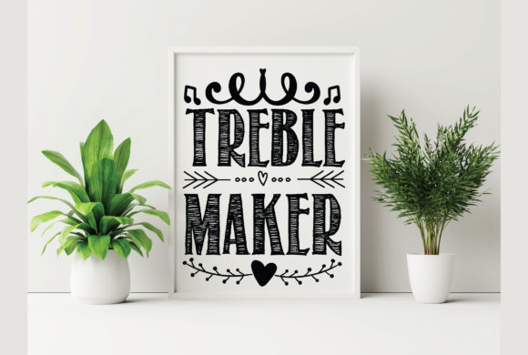 Treble Maker Graphic Crafts By Printable Store