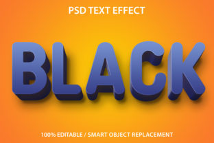 Text Effect Black Premium Graphic Graphic Templates By yosiduck