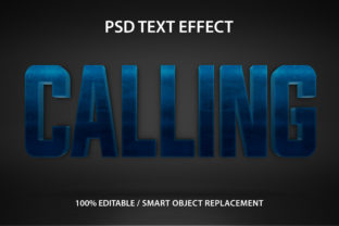 Text Effect Calling Premium Graphic Graphic Templates By yosiduck