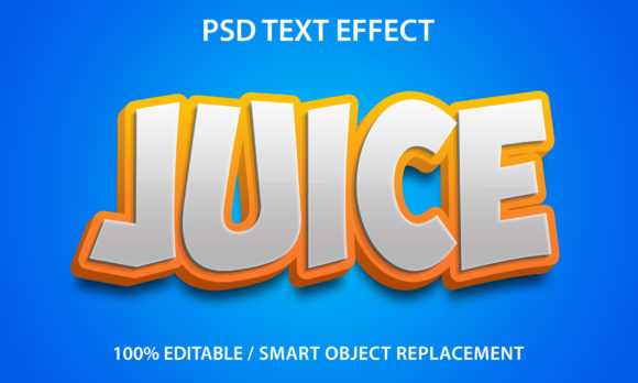 Text Effect Juice Premium Graphic Graphic Templates By yosiduck