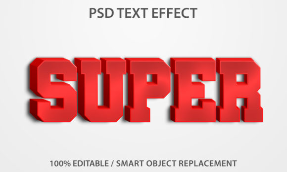 Text Effect Super Premium Graphic Graphic Templates By yosiduck