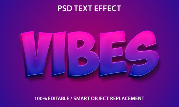 Text Effect Vibes Premium Graphic Graphic Templates By yosiduck