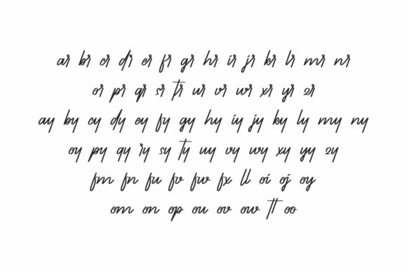 Thunderbirds Font Preview