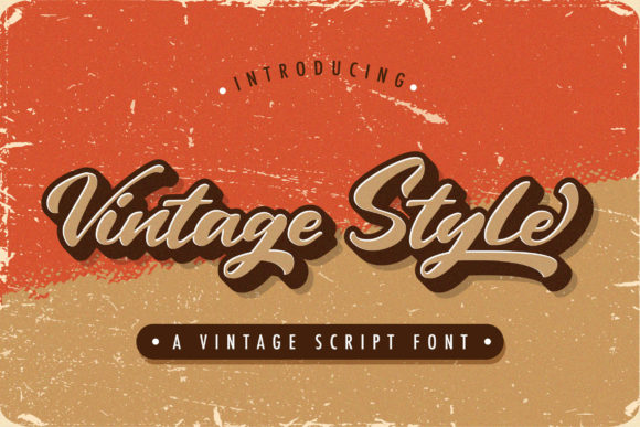 Print on Demand: Vintage Style Script & Handwritten Font By StringLabs