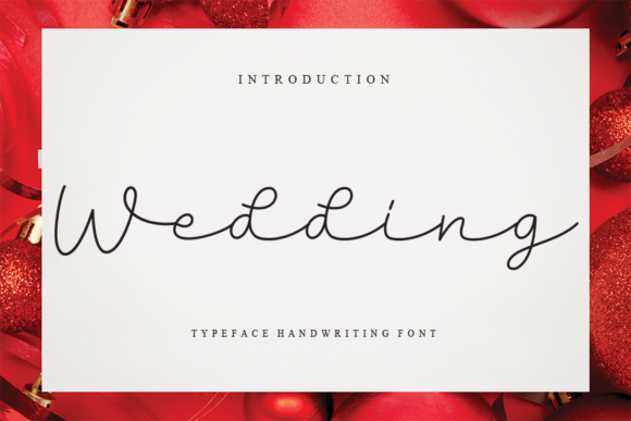 Print on Demand: Wedding Script & Handwritten Font By Creativewhitee
