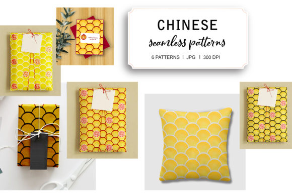 Chinese Seamless Pattern 2021 Graphic Patterns By tobagu