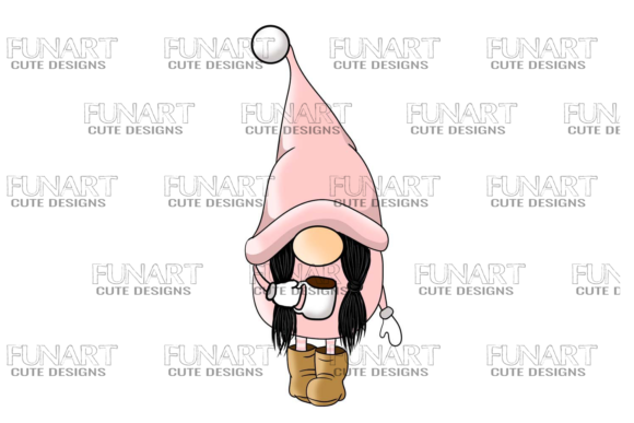 Gnome , Design , Digital , Png File Graphic Illustrations By Fundesings