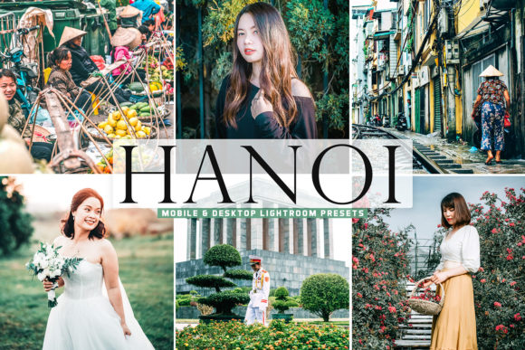 Print on Demand: Hanoi Pro Lightroom Presets Graphic Actions & Presets By Creative Tacos