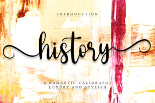Print on Demand: History Script & Handwritten Font By FreshTypeINK