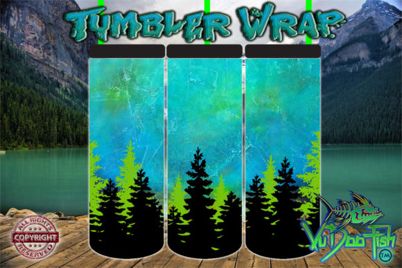 Mountain Dreams, Tumbler Wrap TW279 Graphic Crafts By vudoofish