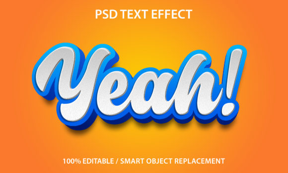 Text Effect Yeah Premium Graphic Graphic Templates By yosiduck